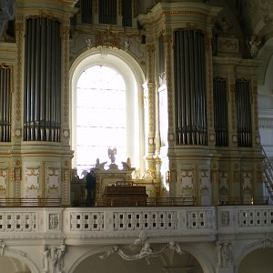 Holzhey organ, Rot-an-der-Rot, Germany
